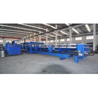 Buy cheap Electrical Shearing 0.75kw Discontinus 6m Length PU Sandwich Panel Production Line 600 - 1250mm Feeding Width from wholesalers