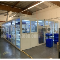 Buy cheap Full glass type Clean room, ISO7 clean class Modular clean room China supplier from wholesalers