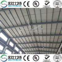 Buy cheap OPT 7.3m industrial ceiling fans for logistics industry with good cooling effect from wholesalers