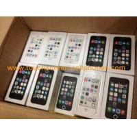 Buy cheap Multi Language  4 Inch Mobile Phone 2G Apple Iphone 5s , Talking Time 4 Hours from wholesalers