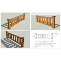 Buy cheap WPC outdoor rail OLDA-9022 0.84m*2.62m from wholesalers