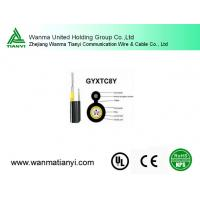 Buy cheap Gyxtc8y aerial and direct buried out door Fiber Optical Cable product