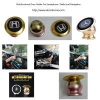 Buy cheap 360 degree car cell phone holder with magnet , magnet phone holder manufaturer from wholesalers