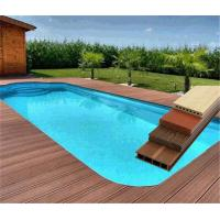 Buy cheap 60% PVC Powder and 30% Wood Powder WPC Composite Decking Swimming Pool Flooring from wholesalers