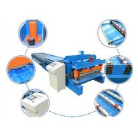 Buy cheap PLC Control Sheet Metal Forming Machine 4-8m/Min 380v 50hz 3 Phrases from wholesalers