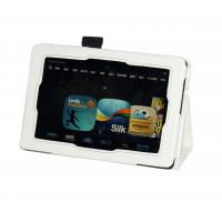 Buy cheap Folio Microfiber PU Leather Tablet Case Stand / White Protective Covers from wholesalers