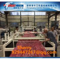 Buy cheap Recycled plastic roofing tile extrusion line from wholesalers