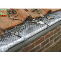 Buy cheap Plastic Gutter Covers Plastic Construction Netting Roll HDPE Materials Diamond Hole from wholesalers