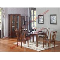 Buy cheap Can Folding and Opening Dining table in Solid Wooden Dining Room Set product