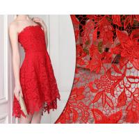 Buy cheap 2018 Summer Newest Style chemical  Embroidery Fabric 140cm wide for wedding dress from wholesalers