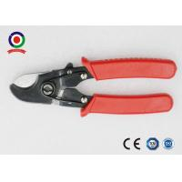 Buy cheap Heavy Duty Solar Tools Electrical Wire Cable Cutter Chrome Vanadium Safety Red Color from wholesalers