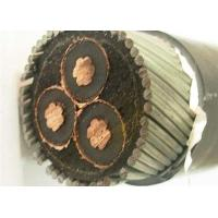 Buy cheap 185mm2 Medium Voltage Power Cables , XLPE Copper Armoured Cable 11kv 22 KV 33KV product