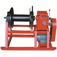 Buy cheap High Speed Drill Rig Parts , Hydraulic electric wireline winch for drilling from wholesalers