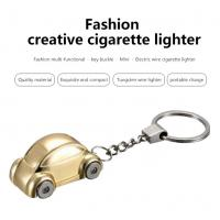 Buy cheap Car Desigh Electronic Windproof Cigarette Lighter , USB Rechargeable Flameless Lighter from wholesalers