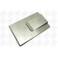 Buy cheap Double Sided Money Clip And Credit Card Holder With Brush Finish from wholesalers