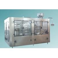 Buy cheap Soda Water / Carbonated Beverage Filling Line 6000 BPH -8000BPH For 500 ML PET Bottle from wholesalers
