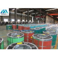 High Gloss Color Coated Aluminium Coil 55% Add Boron AZ EN10142 / GBT2518