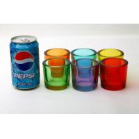 Buy cheap Votive Candle Glass Cups Decorative Drinking Bar Transparent Custom Logo Color from wholesalers