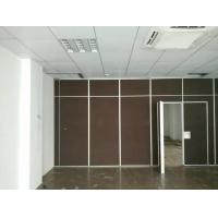 Buy cheap Sound Proof Office Sliding Acoustic Room Divider Wall with Aluminium Frame from wholesalers