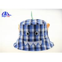 Buy cheap Personalized Lattice 100% Cotton Printed Bucket Hats Lovely Design for Women from wholesalers