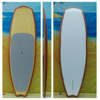 Buy cheap 8ft5 Epoxy Stand up Paddle Boards High Quality PVC SUP Paddle Boards Bamboo SUP from wholesalers