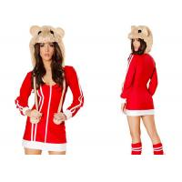 Buy cheap Red Da Bomb Hamster Party Adult Costumess Sexy 2pcs Red Veil For Carnival from wholesalers