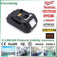 Buy cheap Hotsale certified Makita 18V 3500 mAh  Cordless Replacement Power Tool Battery from wholesalers
