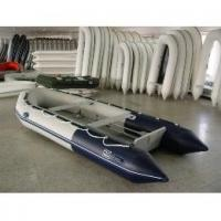 Buy cheap White foldable PVC Inflatable Boat For Many People , water park games from wholesalers