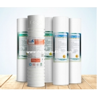 Buy cheap 10 inch polypropylene water filter cartridge sediment purifer for household filter from wholesalers
