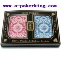 Buy cheap Kem 100% Plastic Edge Marked Cards from wholesalers