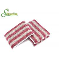 Buy cheap Kitchen Dish Washing Scrub Pads , Antibacterial Sponge Pads For Ceramic Tile Cleaning from wholesalers