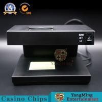 Buy cheap Ordinary Classic Money Gambiling Poker Chip Detector Code Editor Casino Poker Table Gambling Games UV Chips Checker from wholesalers