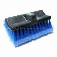 Buy cheap Car Wash Brush with Polypropylene Foam Block/PVC Feathered Tip Bristles from wholesalers