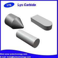 Buy cheap Cemented carbide welding inserts for making core clampers for lathes and periphery grinders from wholesalers