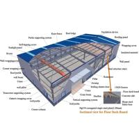 Buy cheap Hot - Dip Galvanized Building Steel Frame With Completed Roof And Wall Claddying from wholesalers