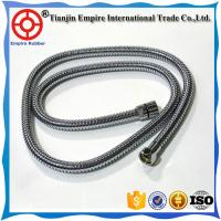 Buy cheap Factory supply flexible Teflon PTFE hose assembly with fitting stainless Corrugated  metal hose to deliver hot water from wholesalers