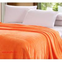 Buy cheap Flannel air/sofa/bedding Solid Color Blanket Throw and Double Faced Travel Flannel Blanket from wholesalers