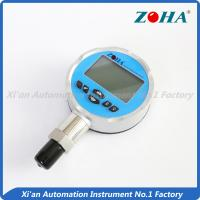 Buy cheap High Stability Digital Pressure Gauge With Remote Readout Full View LCD Screen from wholesalers