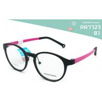 Buy cheap Round Kids Eyeglass Frames Black Red 45MM Lens Width Low Cold Resistance from wholesalers