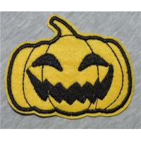 Buy cheap Halloween pumpkin Iron On patches or Sew on Shirt Hat Jean shoes Panty Underwear from wholesalers