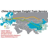 Buy cheap Shanghai to Poland Warsaw FCL/LCL Shipment Rail Freight Logistics Booking Agent from wholesalers