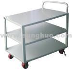 Buy cheap Hand trucks carts |Metal three layers white platform hand trucks carts from wholesalers