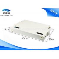 Buy cheap 19 Inch 12 Port Fiber Optic Cable Termination Patch Panel Without Adapters from wholesalers