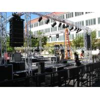 Buy cheap Professional heavy duty portable stage portable folding stages portable lightweight stage truss from wholesalers