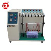 Buy cheap Cable Bending Fatigue Testing Machine , 220V 50hz Automatic Cable Flex Tester from wholesalers