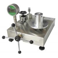 Buy cheap New Dead Weight Tester ( Grade I standard ) ( New Developed 2014 ) ; deadweight from wholesalers