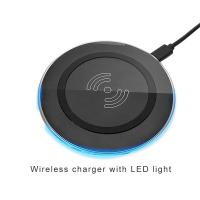 Buy cheap Fast universal qi wireless mobile charger pad mobile phone accessories charger for samsung for iphone from wholesalers