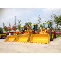 Buy cheap 3.0M3 Small Wheel Loader XCMG 5ton 3cbm / 4cbm bucket ZL50G / ZL50GN Wheel Loader, Weichai Engine/ Shanghai Cat Engine from wholesalers