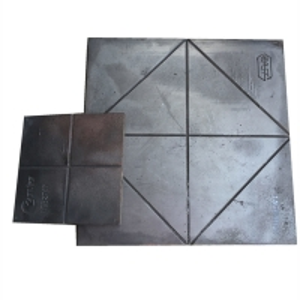 Buy cheap 400*400*23mm Impact Walls 65HRC 28.7kgs Bimetallic Wear Plates product
