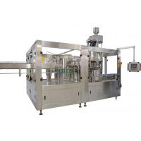 Buy cheap 200ml-2L fully automatic PET bottle carbonated drinks filling line machine from wholesalers